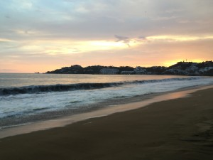 Sunset in Manzanillo