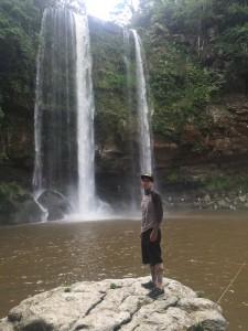Misol-Ha waterfall and my mug