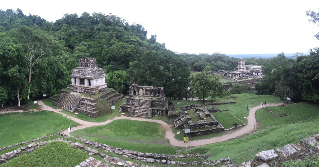 Mayan temples Palenque